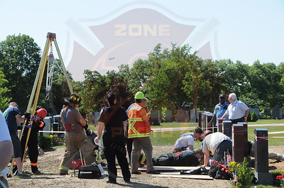 East Farmingdale Fire Co. Technical Rescue St. Charles Cemetery 2015 Wellwood Ave. 6/16/14
