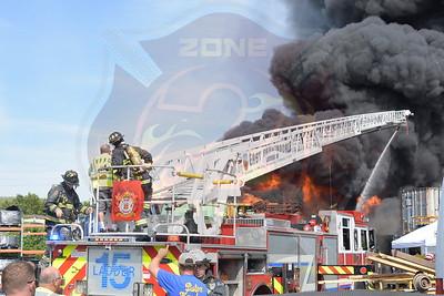 East Farmingdale Fire Co.  Multiple Signal 14's   Field St. 7/21/17