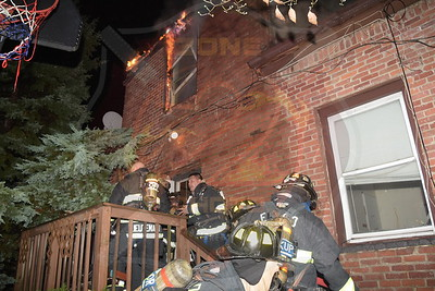 East Farmingdale Fire Co. Working General Alarm  Route 109 10/25/17