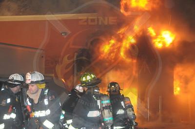 East Farmingdale Fire Co. Working General Alarm 124 Marine St. 3/17/15