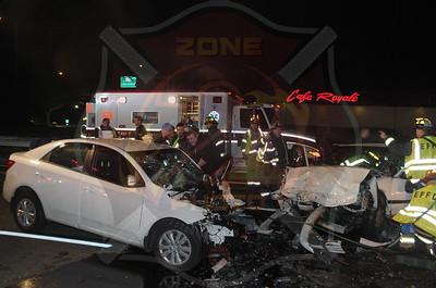East Farmingdale Fire Co. Fatal MVA w/ Entrapment  Route 109 and Route 110  11/24/14