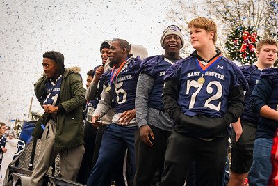 East Forsyth State Championship Parade 2019