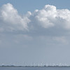 Late-afternoon clouds over the East Frisian coast