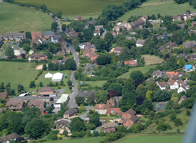 East Garston - Aerial