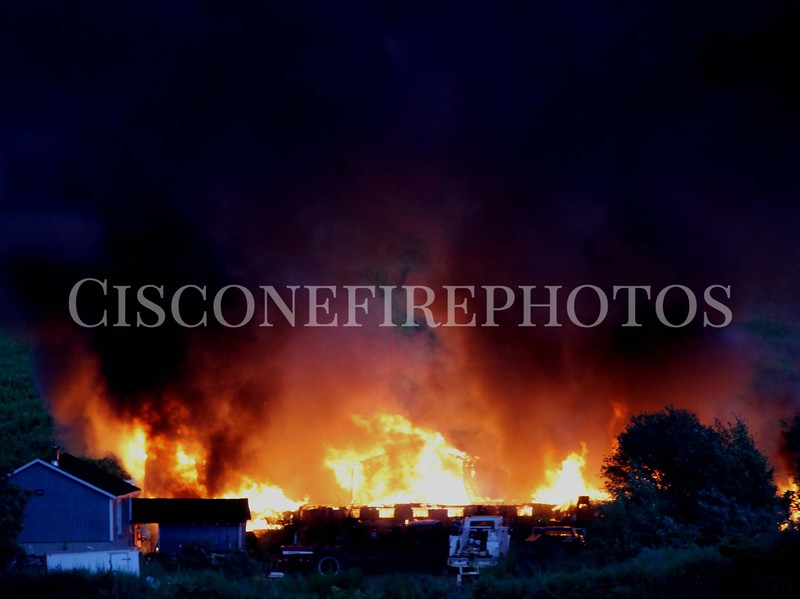 East Haven - Barberry Road - 07/13/12<br />                                  Mutual Aid to Scene-  North Branford and  North Haven<br />                                           Mutual Aid Station Coverage -  Branford