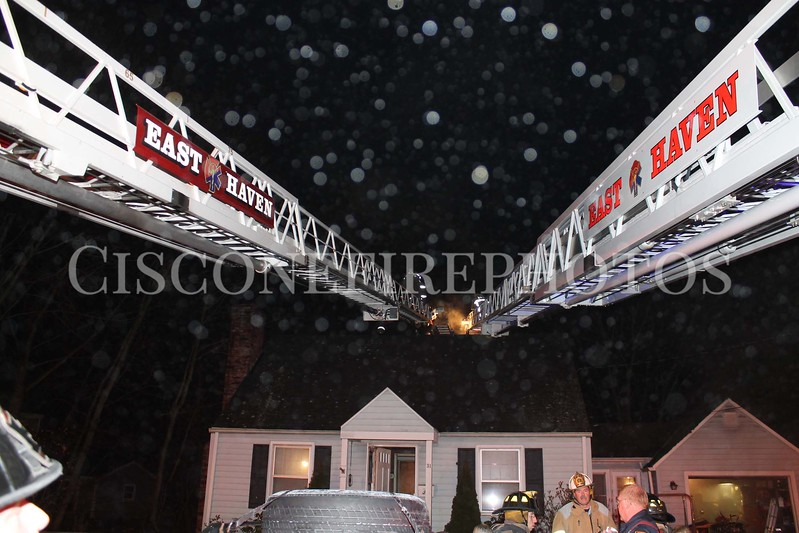 East Haven 31 Ozone Road Chimney Fire<br /> January 13, 2013