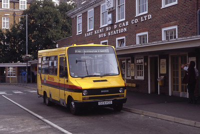 East Kent 231 Folkestone Bus Stn Aug 91