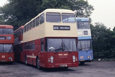 East Kent 7010 Dover Bus Station May 87