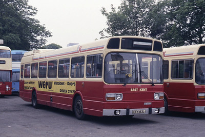 East Kent 1163 Dover Bus Station May 87