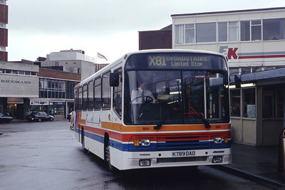 East Kent 589 Canterbury Bus Stn May 94
