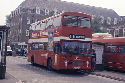 East Kent 7017 Folkstone Bus Stn May 87