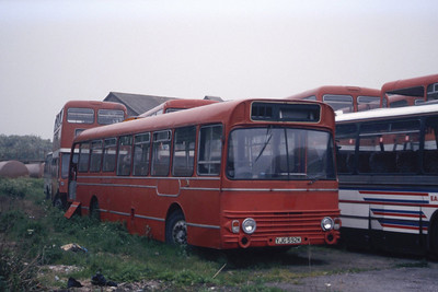 East Kent 1592 Westwood Depot Ramsgate May 87