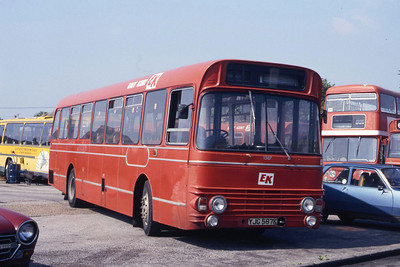 East Kent 1587 Westwood Depot Ramsgate May 87