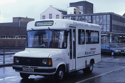 East Kent 1 Folkstone Bus Stn Aug 93