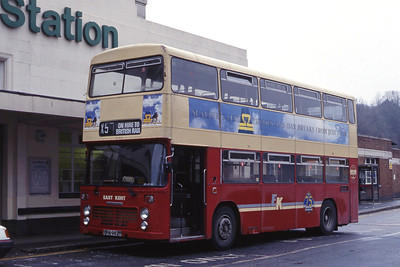 East Kent 2982 Dover Priory Station Mar 92