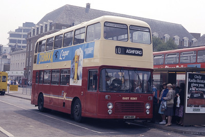 East Kent 7041 Folkstone Bus Stn May 87