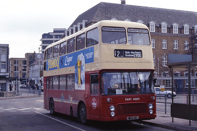 East Kent 7041 Folkstone Bus Stn Mar 92