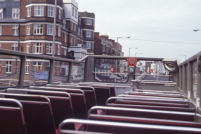 East Kent 0572 Interior Top Deck Margate Sep 90