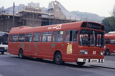 East Kent 1516 Dover Bus Station May 87