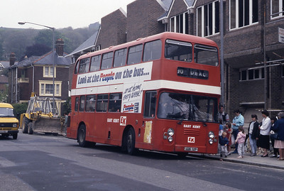 East Kent 7012 Dover Bus Station May 87
