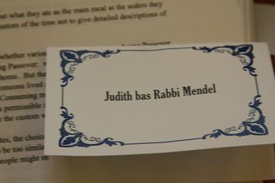 Judith bas Rabbi Mendel