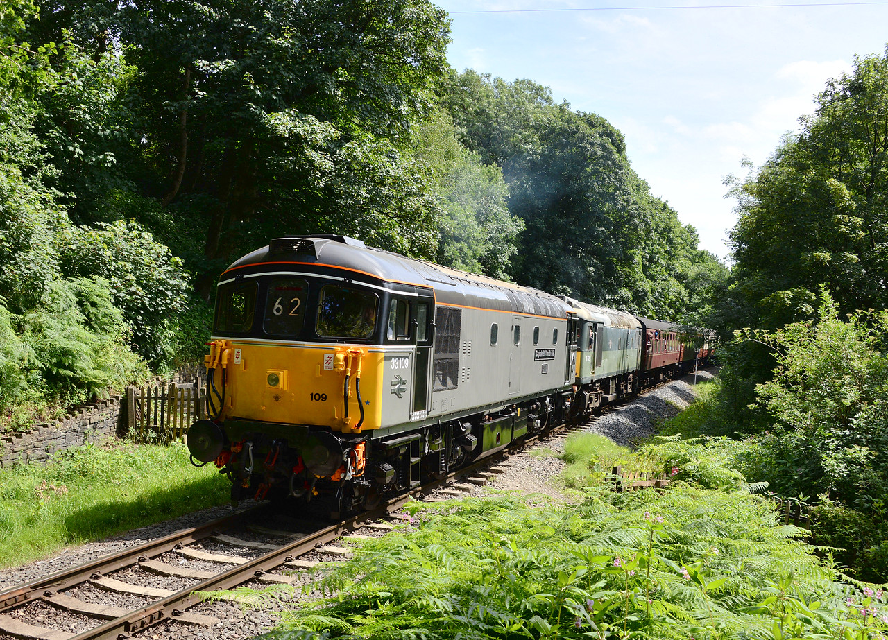 33109 and D7629, Summerseat.