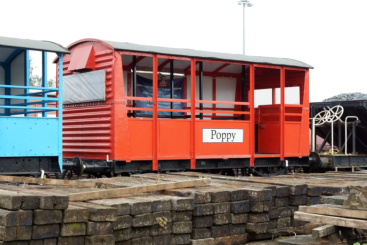 BR 764355 'Poppy' Ex Ventilated Van Vanfit Kitted Out To Carry Passengers 27,08,2016