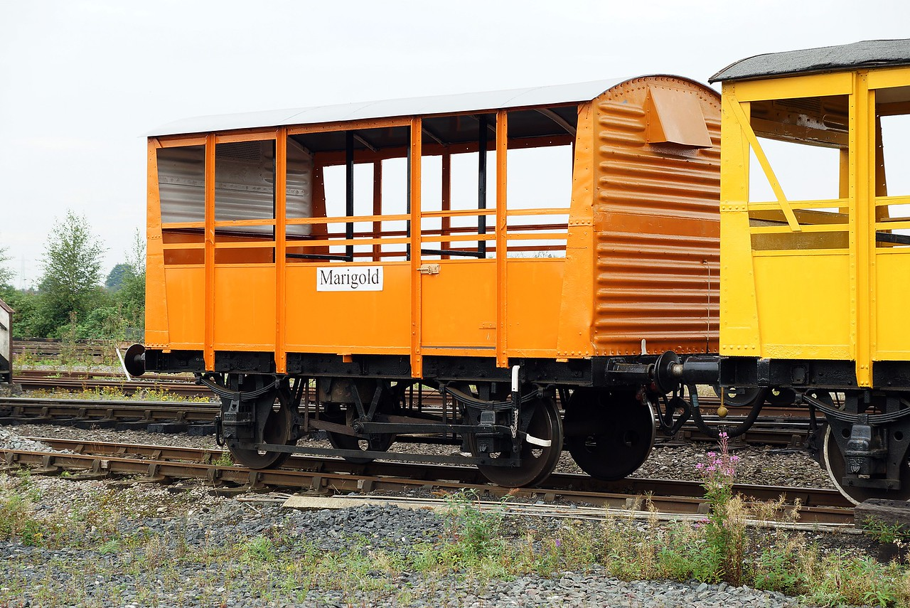 BR 775102 'Marigold' Ex Ventilated Van Vanfit Kitted Out To Carry Passengers 27,08,2016