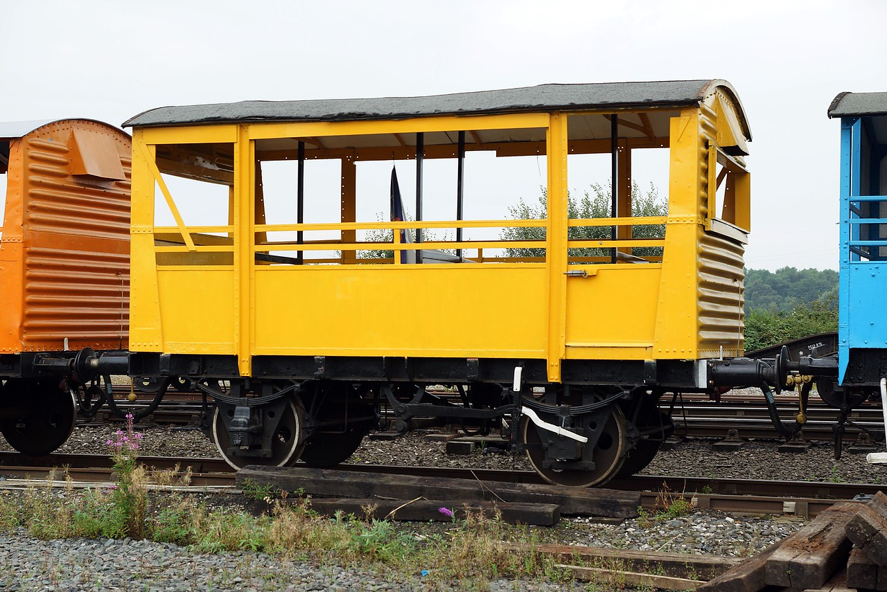 BR 762392 'Buttercup' Ex Ventilated Margarine Van Kitted Out To Carry Passengers 27,08,2016