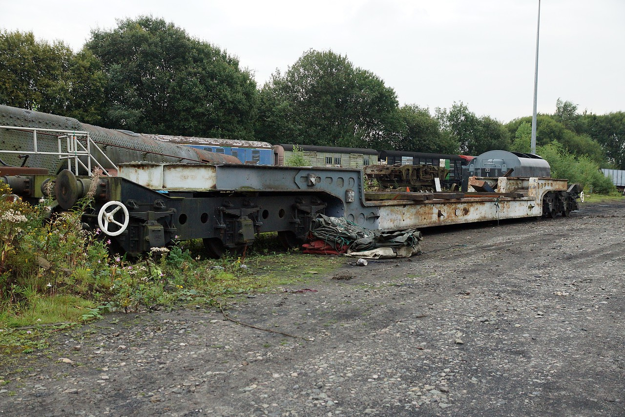 BR 901601 Bogie Trolley 27,08,2013 (Owned By The National Railway Museum)