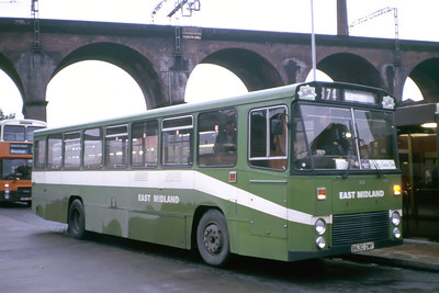 East Midland 630 Stockport Bus station Oct 87