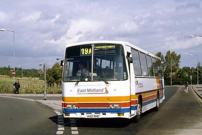 East Midland 42 Dinnington Bus Station Sep 94
