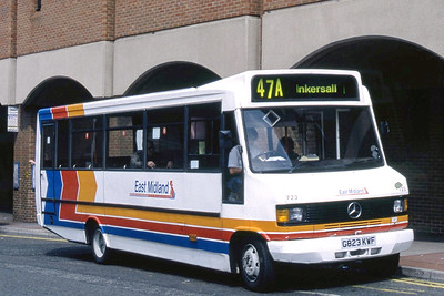 East Midland 723 New Beetwell Street Chesterfield Jun 93