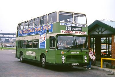 East Midland 209 Meadowhall Bus Stn Sheffield Jun 95