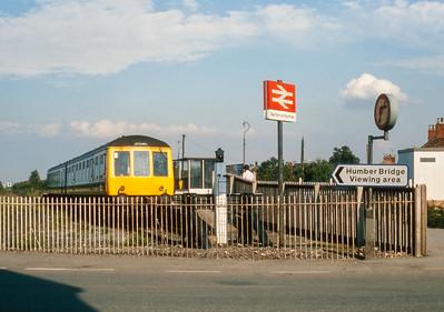 Class 108 Barton on Humber