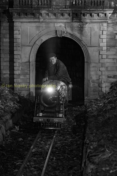Curwen Atlantic no 751 exhits box tunnel