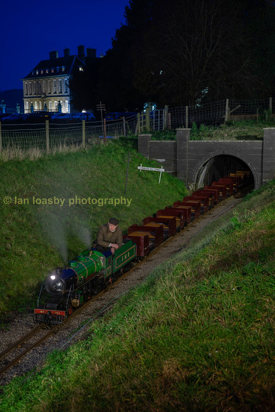 Curwen Atlanntic 4-4-0 no 751 at Primrose Hill tunnel