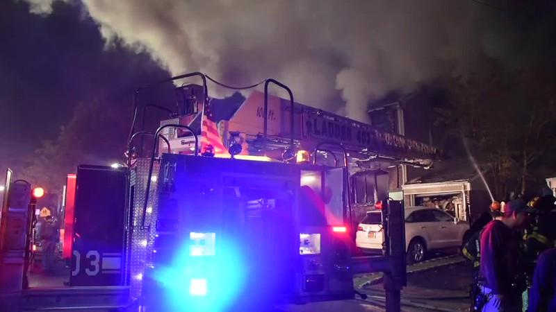 East Rockaway House Fire- Paul Mazza
