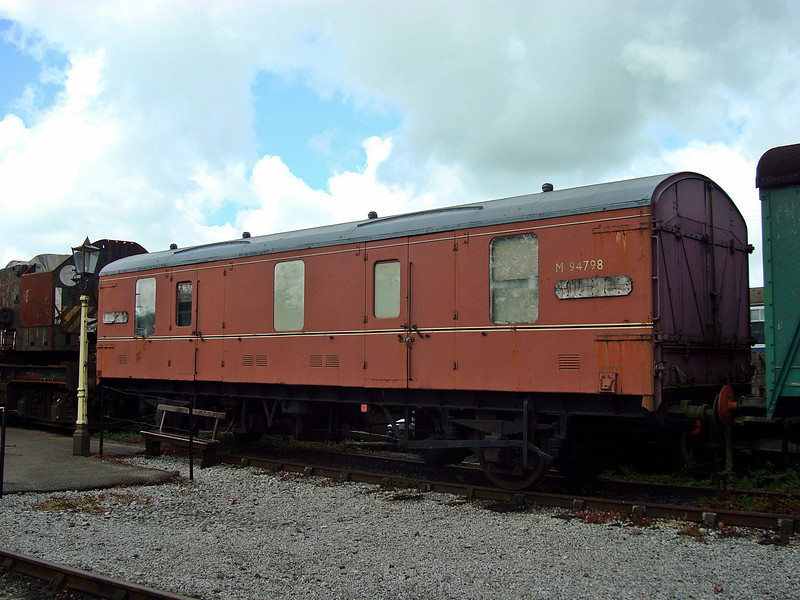 BR 94798 Four-wheel CCT (Covered Carriage Truck). 12,05,2011