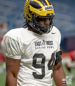 East-West Shrine Bowl Practice Day 1