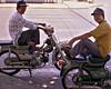 Motorcycle taxis, Ho Chi Minh City (Saigon), Vietnam