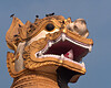 Guardian creature, eastern entrance to Shwedagon Paya, Yangon