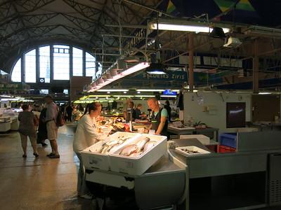 Riga fish market