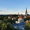 Historical buildings in lower Tallinn
