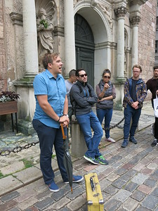 Free walking tour in Riga with our guide Kaspers
