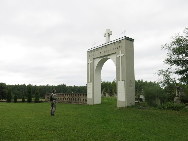 Entrance to the picturesque graveyard