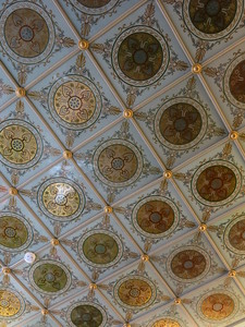 Ornate ceiling