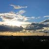 Sunset on Tallinn