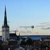 Balloon ride from Tallinn harbour