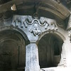 Beautiful stonework inside Geghard Monastery